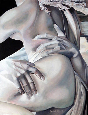 Painting - Rape Of Proserpina After Bernini by JoeRay Kelley