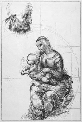 Raffaello Santi Painting - Raphael Madonna by Granger