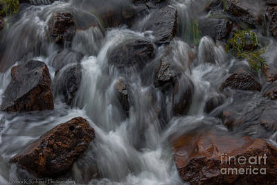 Photograph - Rapid Flow by Debra K Roberts