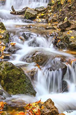 Photograph - Rapid Stream by Peg Runyan
