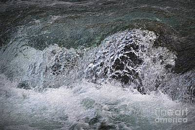 Photograph - Rapids Over The Rocks by Nadalyn Larsen