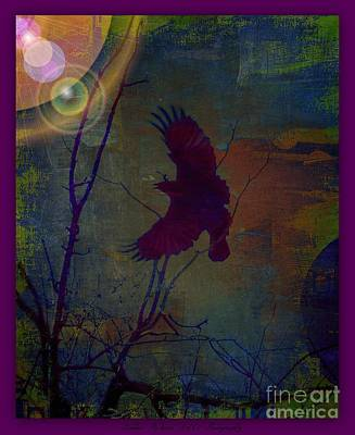 Photograph - Raptor Abstract Art by Bobbee Rickard
