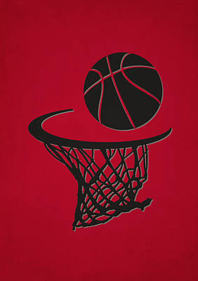 Basket Photograph - Raptors Team Hoop2 by Joe Hamilton