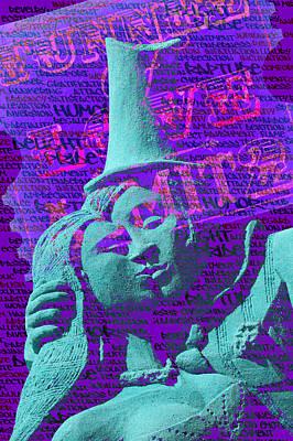 Art Print featuring the digital art Rapture by Richard Farrington