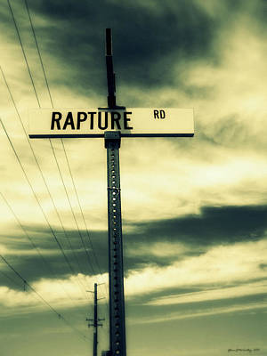 Telephone Poles Photograph - Rapture Road by Glenn McCarthy Art and Photography