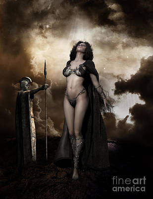 Fantasy Royalty-Free and Rights-Managed Images - Rapture by Shanina Conway