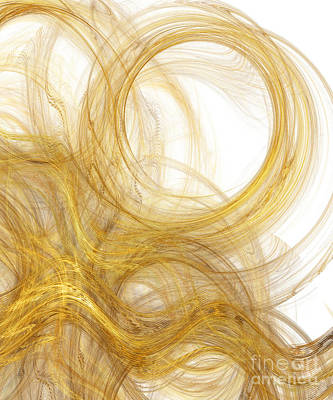 Digital Art - Rapunzel Hair 2 by Andee Design
