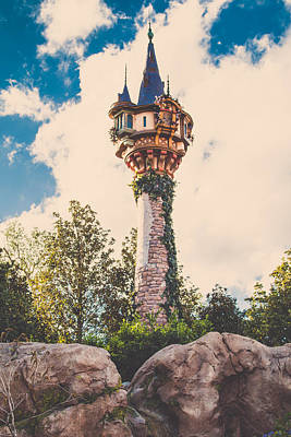 Photograph - Rapunzel's Tower by Sara Frank