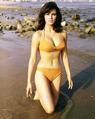 Welch Photograph - Raquel Welch by Silver Screen