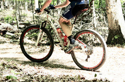 Bicycle Photograph - Rare Disease Cycling  by Steven Digman
