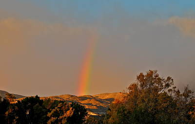 Photograph - Rare Rainbow In The Desert by Kirsten Giving