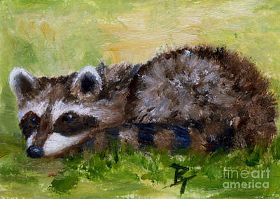 Painting - Rascal Aceo by Brenda Thour