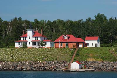 Car Photos Douglas Pittman - Raspberry Island Lighthouse 5 by John Brueske