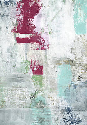 Modern Abstract Painting - Raspberry Patch by Sarah Ogren