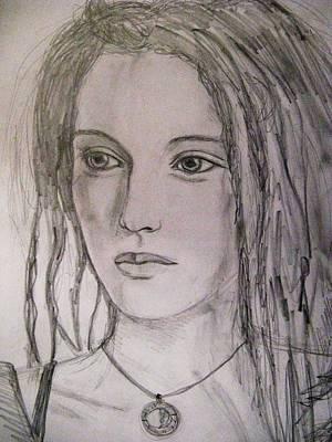 Rasta Divine Art Print by Agata Suchocka-Wachowska