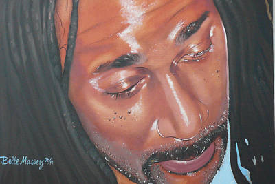 Painting - Rastaman by Belle Massey