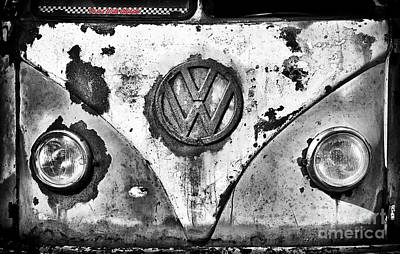 Rusted Cars Photograph - Rat Dub by Tim Gainey