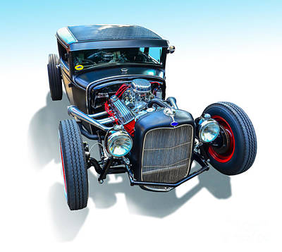 Photograph - Rat Rod by Anthony Sell