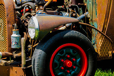 Photograph - Rat Rod Fender by Ron Roberts