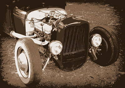 Photograph - Rat Rod by Guy Pettingell