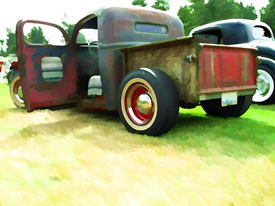 Photograph - Rat Truck by Ron Roberts