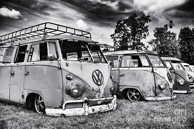 60s Photograph - Rat Vans by Tim Gainey