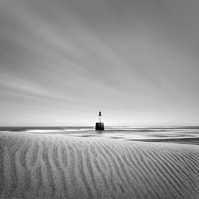 Rattray Head Lighthouse 1 Print by Dave Bowman