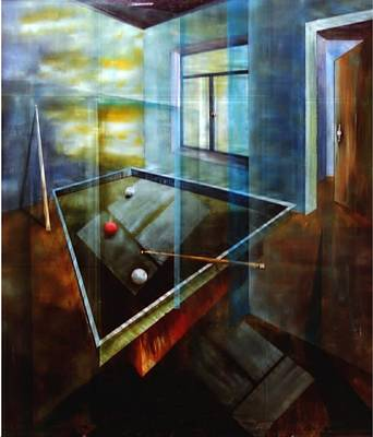 Painting - Raumirritation 28 by Gertrude Scheffler