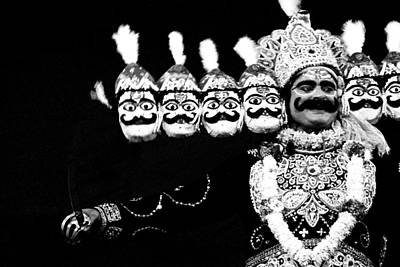 Ravana Photograph - Ravana In Ramleela by Jagdish Agarwal