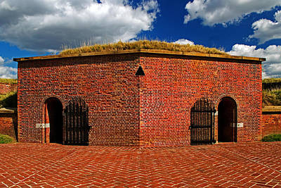Photograph - Ravelin Magazine At Fort Mchenry by Bill Swartwout Photography