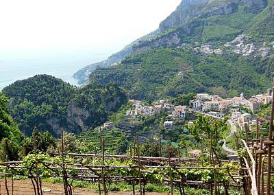 Ravello Photograph - Ravello And Amalfi Coast by Marilyn Dunlap