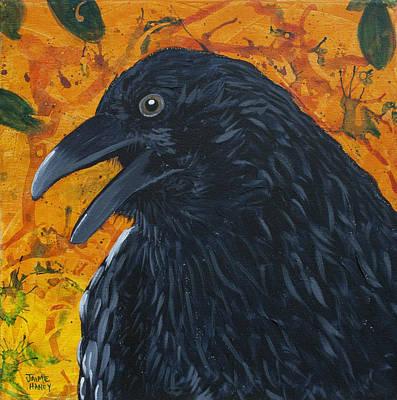 Raven Festival Art Print