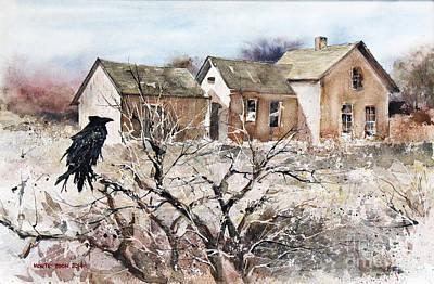 Raven Roost Art Print