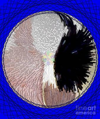 Mandala Photograph - Raven-wold Mandala Yantra by Marie Jamieson