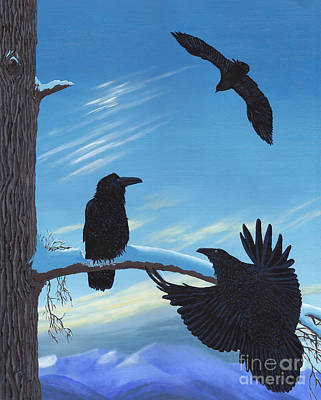 Raven's Gather Original by Stanza Widen