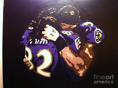 Raven's Love Art Print