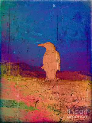 Photograph - Raven's Respite by Meghan at FireBonnet Art