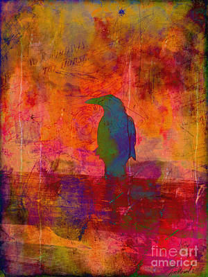 Photograph - Raven's Revelation by Meghan at FireBonnet Art