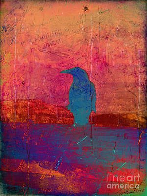 Photograph - Raven's Reverie by Meghan at FireBonnet Art