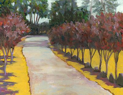 Winery Painting - Ravenswood Winery Passage by Dena Cornett