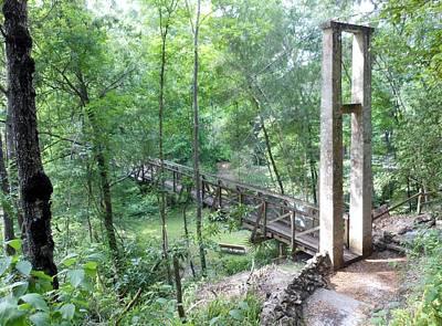 Palatka Bridge Photograph - Ravine Bridge 1 by Kay Gilley