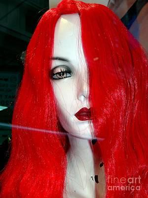 Photograph - Ravishing Redhead by Ed Weidman