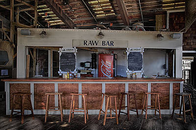 Raw Bar Art Print