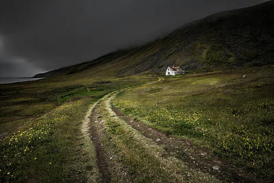 Abandoned House Wall Art - Photograph - Raw by Bragi Ingibergsson -
