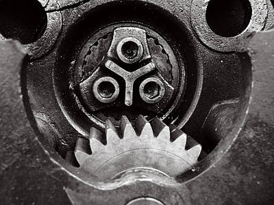 Realism Photograph - Raw Steel...mechanical by Tom Druin