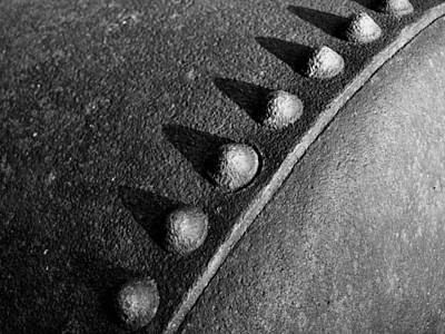 Welded Steel Photograph - Raw Steel...seven by Tom Druin