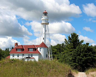 Photograph - Rawley Point Lighthouse 2 by George Jones