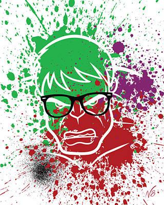 Ray-ban Hulkster Art Print by Decorative Arts