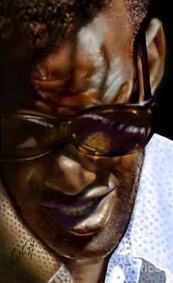 Ray Charles-beyond Sight 2 Original by Reggie Duffie