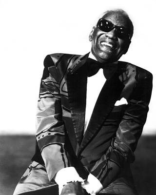 Landmarks Photograph - Ray Charles by Retro Images Archive